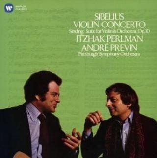 SIBELIUS: VIOLIN CONCERTO, SINDING: SUITE IN A MINOR, OP. 10 [CD album]